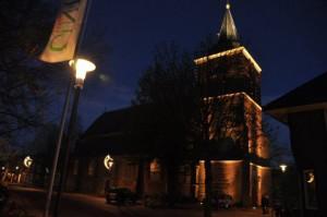 Varsseveldse Kerkklok tijd ver vooruit